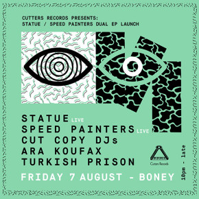 STATUE / SPEED PAINTERS DUAL LAUNCH (MELB)